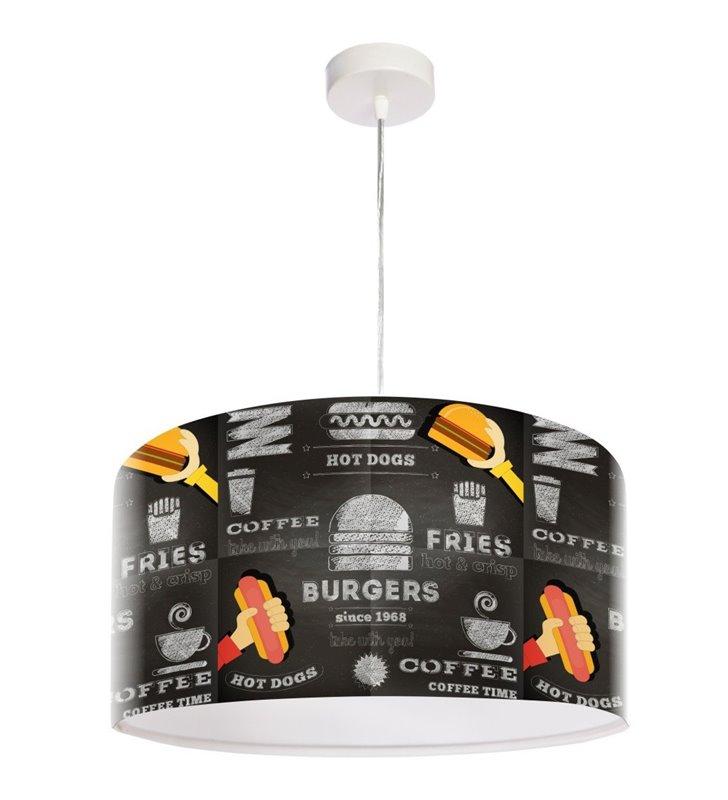 Lampa wisząca Gorący Hot-Dog młodzieżowa kuchenna do jadalni restauracji baru
