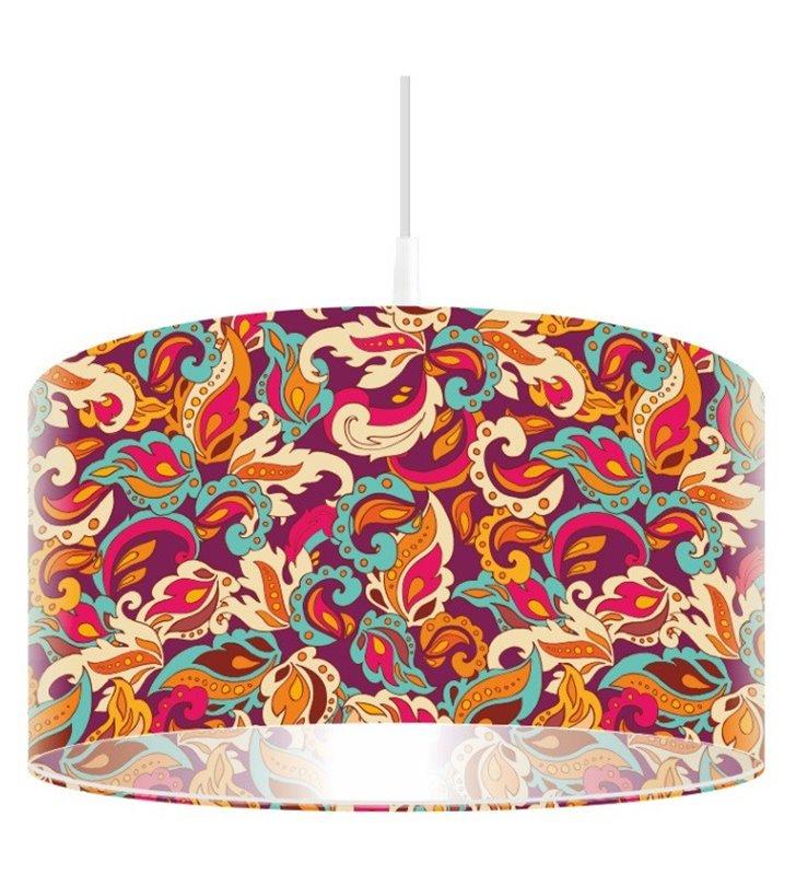 Kolorowa lampa wisząca Radosny Pląs