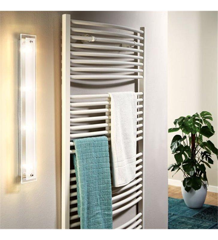 Podłużna lampa łazienkowa ścienno sufitowa Fres2 LED nowoczesna