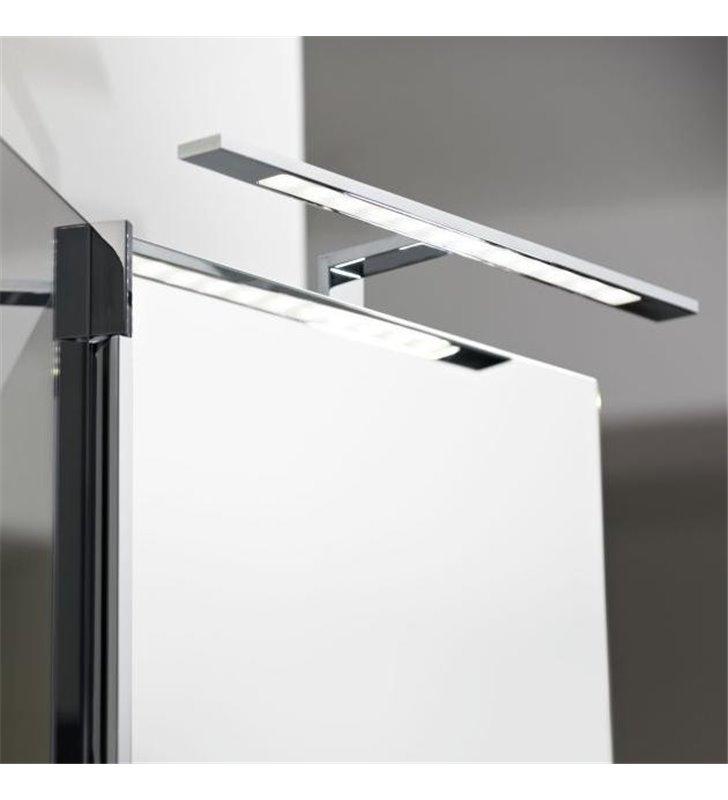 Kinkiet łazienkowy Imene montowany np. na szafce naturalna barwa światła 4000K