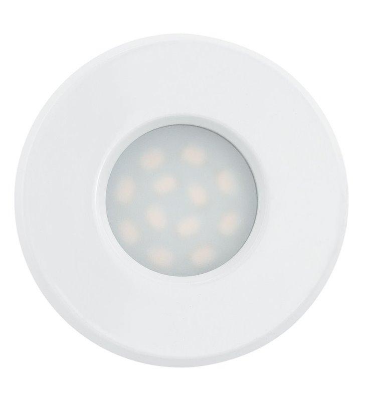 Oprawa punktowa do łazienki Igoa biała okrągła IP44