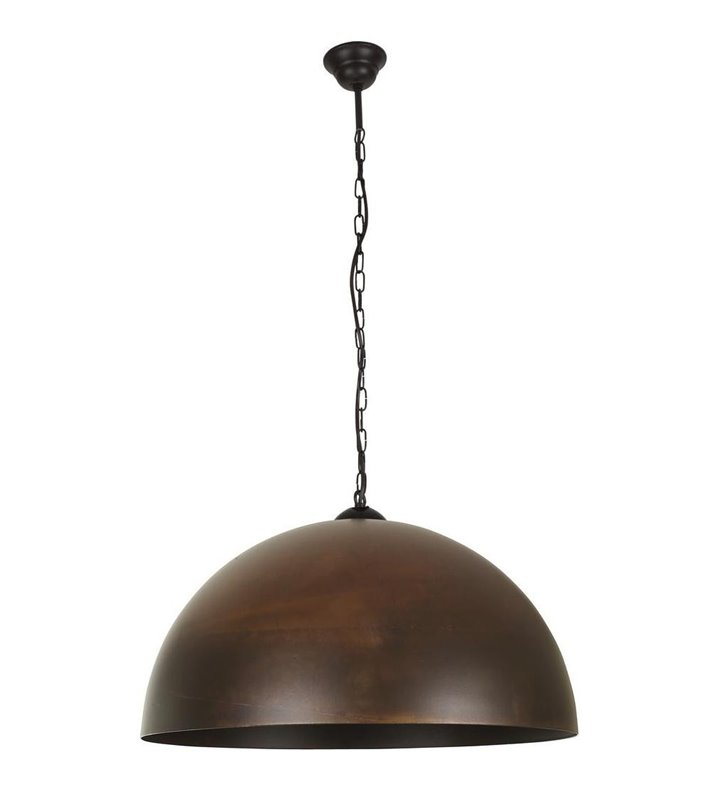 Lampa wisząca Hemisphere Rust brąz rustykalny