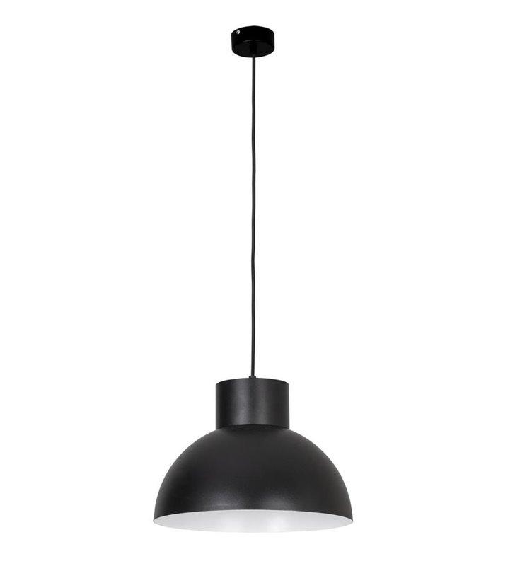 Lampa wisząca Works industrialna czarna