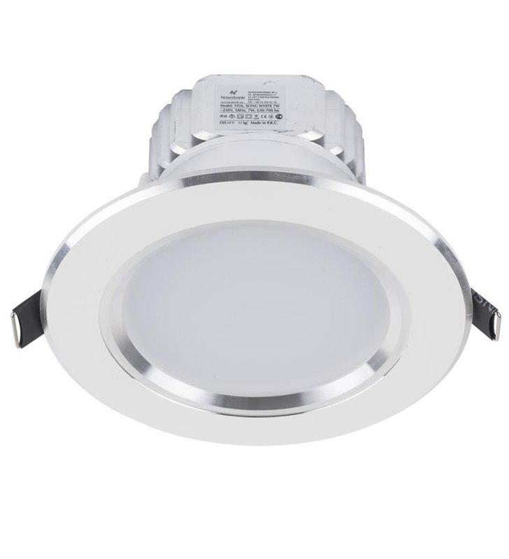 Oprawa punktowa Ceiling LED White 7W biała okrągła  - DOSTĘPNA OD RĘKI
