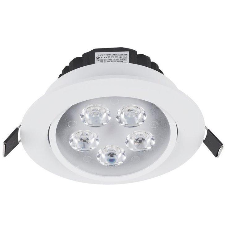 Oprawa punktowa Ceiling LED 5W biała okrągła