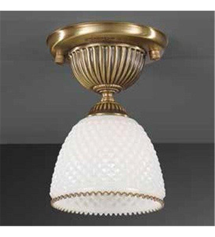 Lampa sufitowa Marinella mosiądz