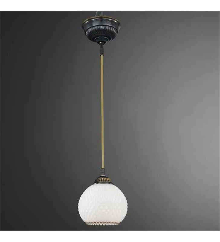 Brązowa lampa wisząca Siracusa