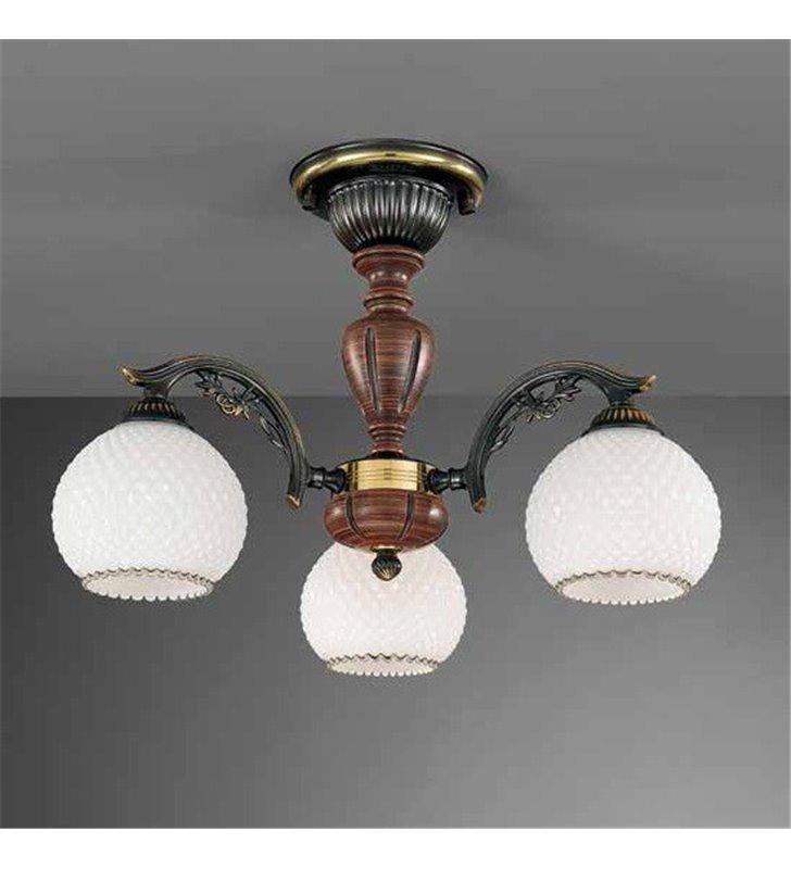 Lampa włoska żyrandol Siracusa