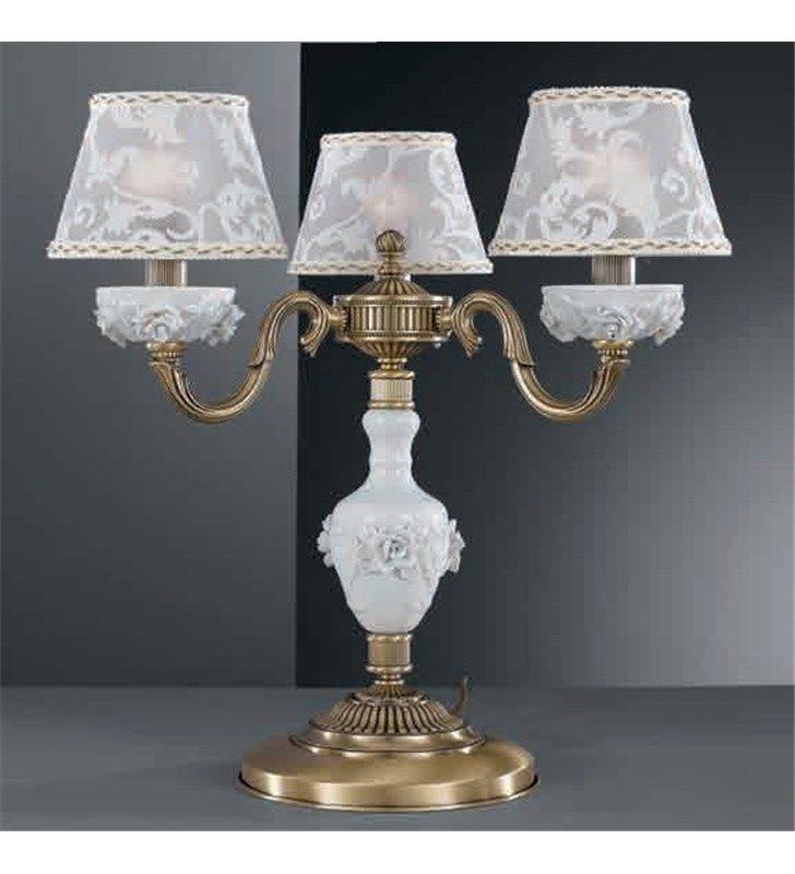 Potrójna lampa stołowa Bisceglie