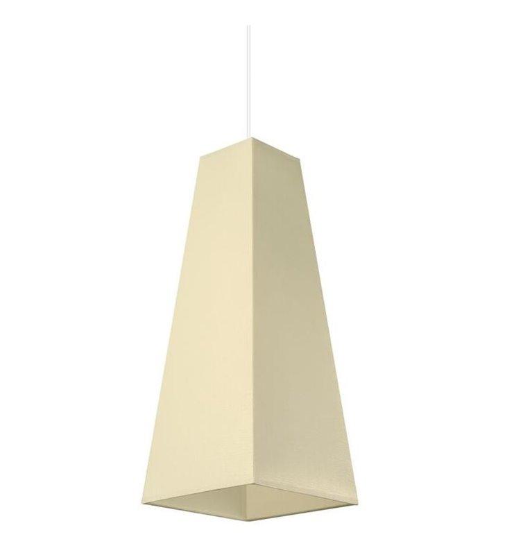Lampa wisząca kremowa Piramide