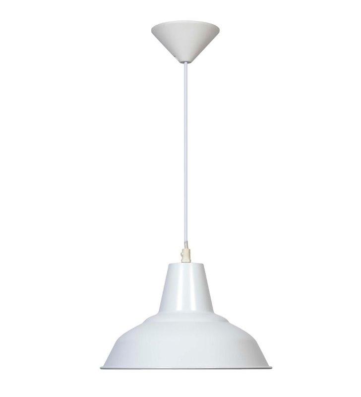 Lampa wisząca Meg biała loft