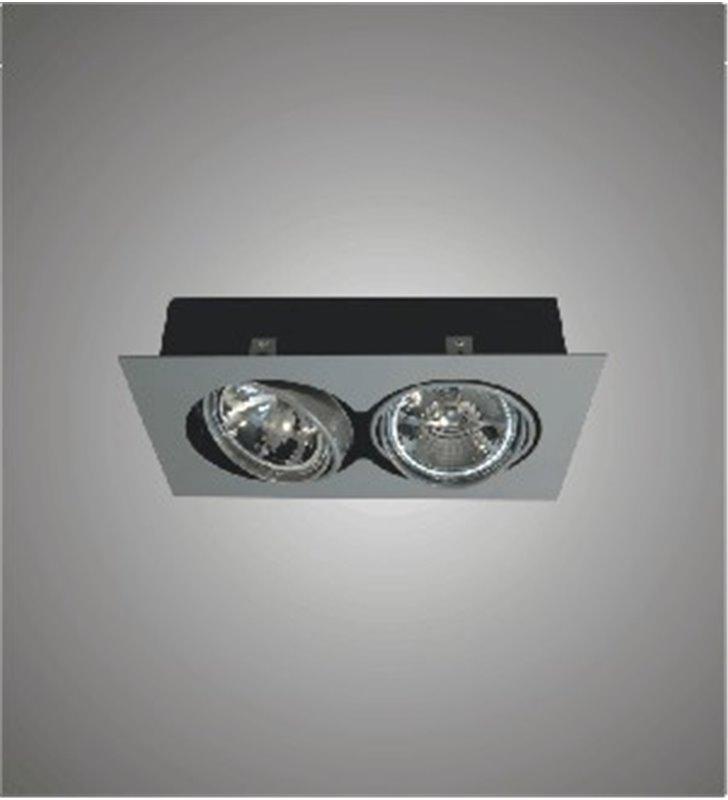 Lampa sufitowa downlight podwójna Pireo 200 do wbudowania - DOSTĘPNA OD RĘKI