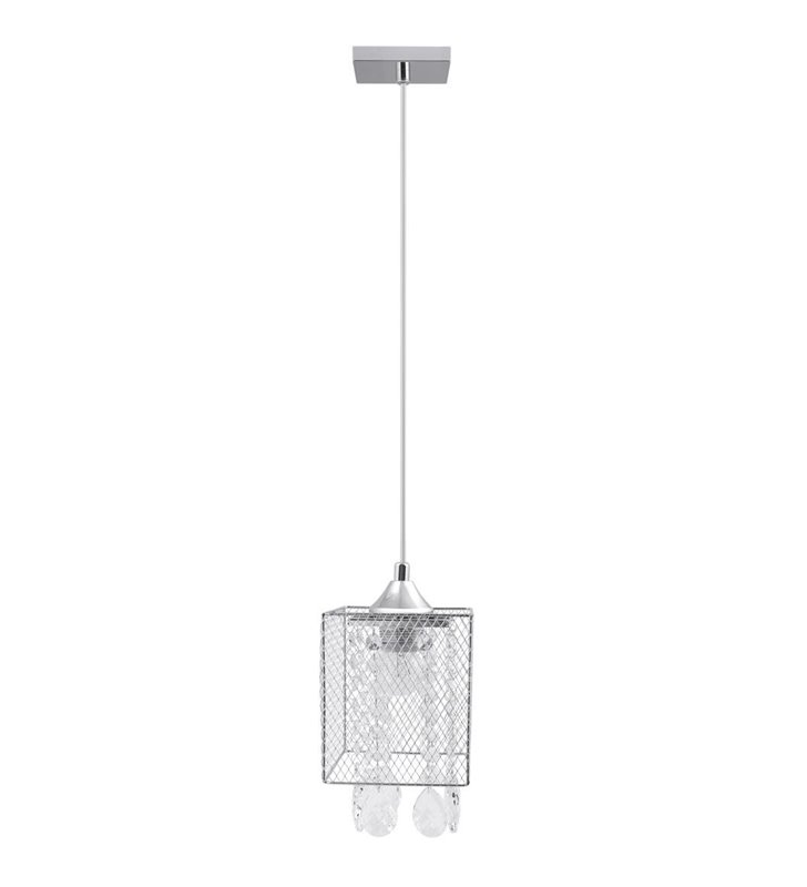 Metalowa lampa wisząca Gracja