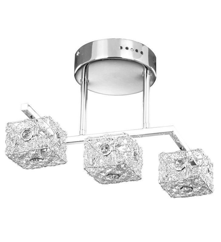 Avatar nowoczesna lampa sufitowa 3 klosze metalowe - DOSTĘPNA OD RĘKI