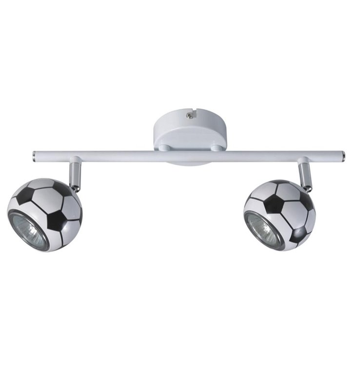 Lampa sufitowa Play piłka nożna LED