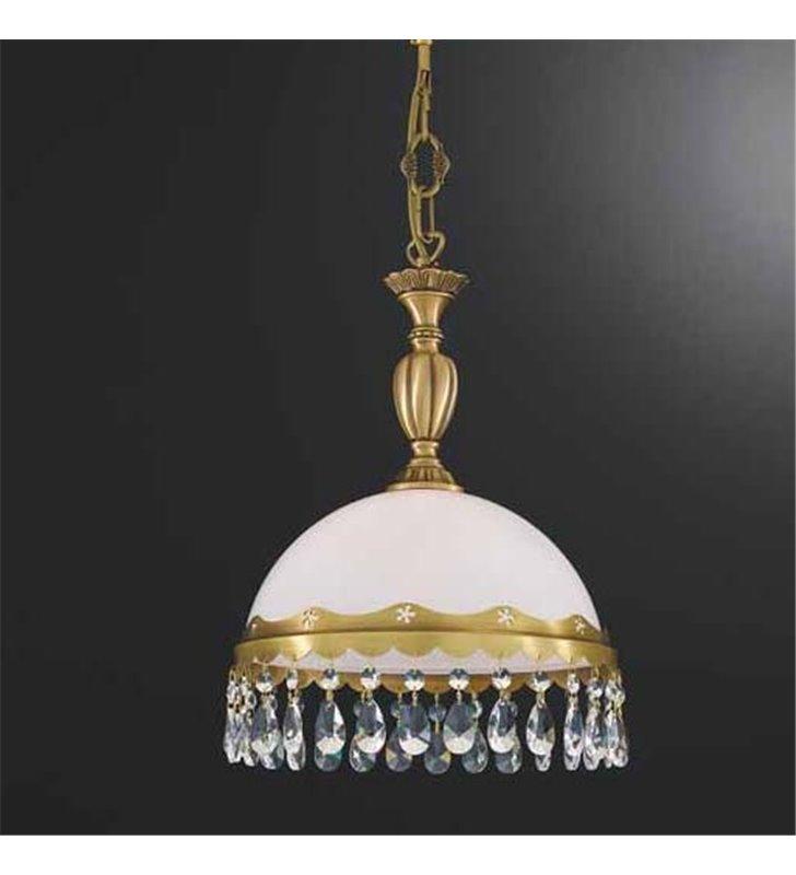 Lampa wisząca z kryształkami Bacoli 28cm