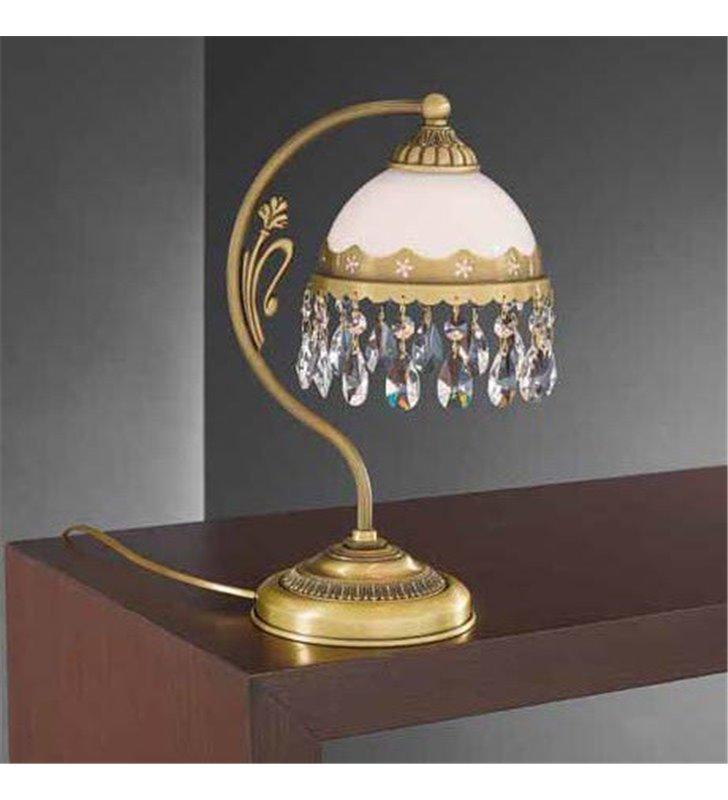 Lampa stołowa z kryształkami Bacoli