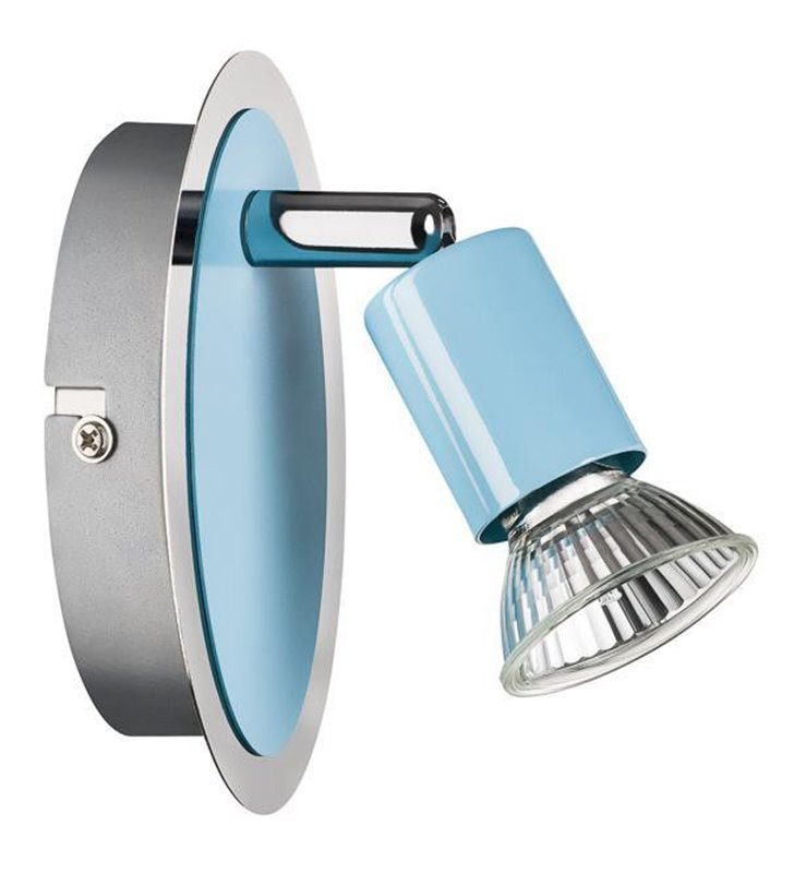 Reflektorek ścienny Colorada niebieski