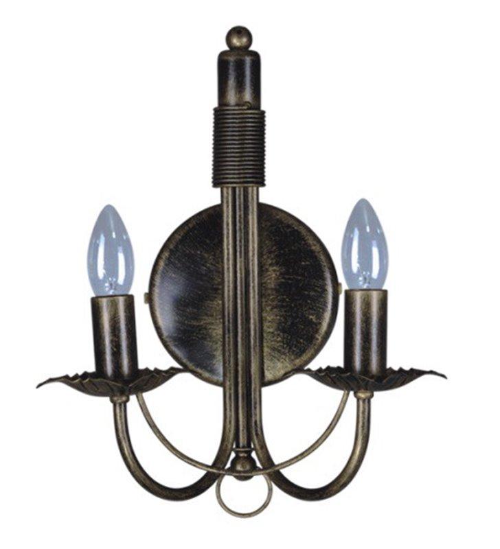 Kinkiet Kordian świecznikowy podwójny klasyczny