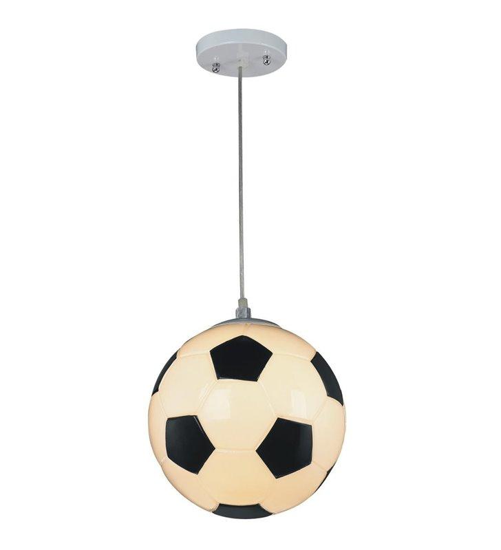 Lampa wisząca Sport piłka nożna dla chłopca do pokoju dziecka młodzieżowego