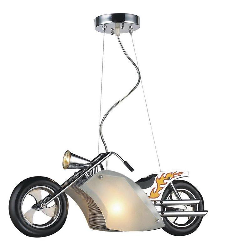 Lampa wisząca Junior motor do pokoju dziecka nastolatka