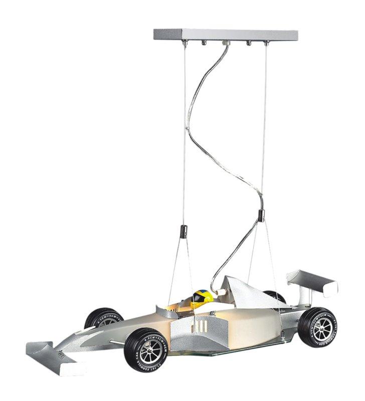 Lampa wisząca Junior samochód wyścigówka do pokoju dziecka nastolatka