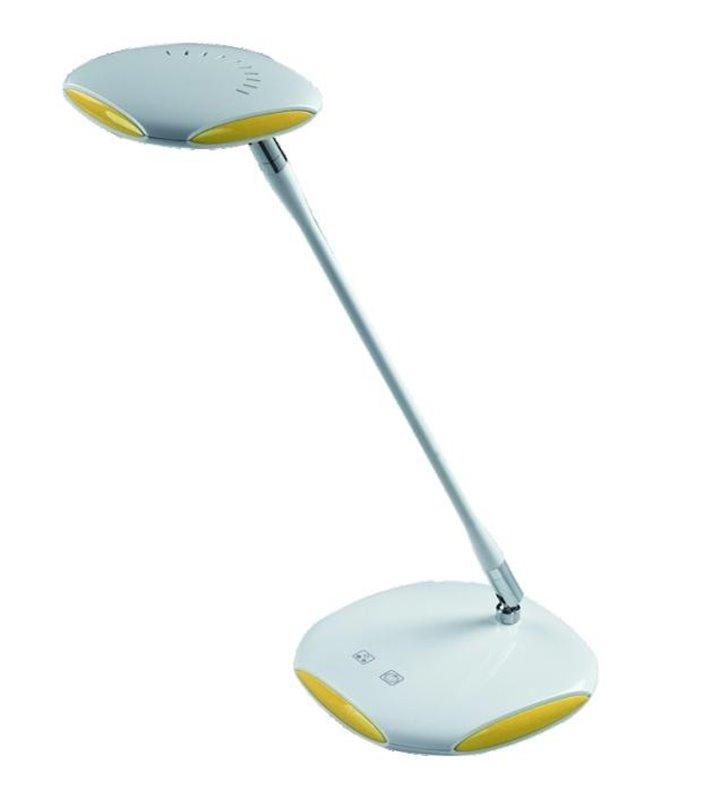Lampa na biurko Ania LED z regulacją barwy światła biało żółta