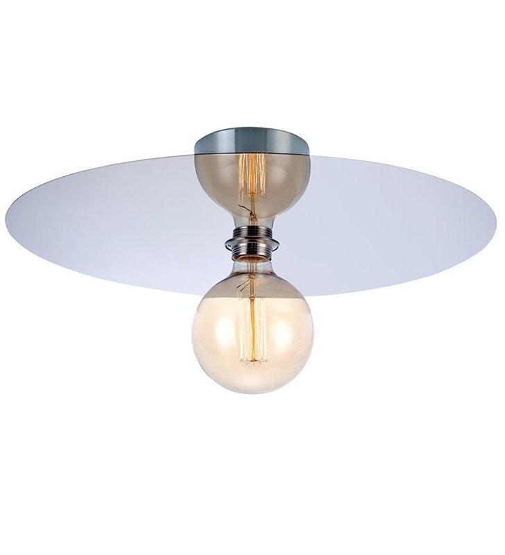 Nowoczesny okrągły plafon Disc chrom 490