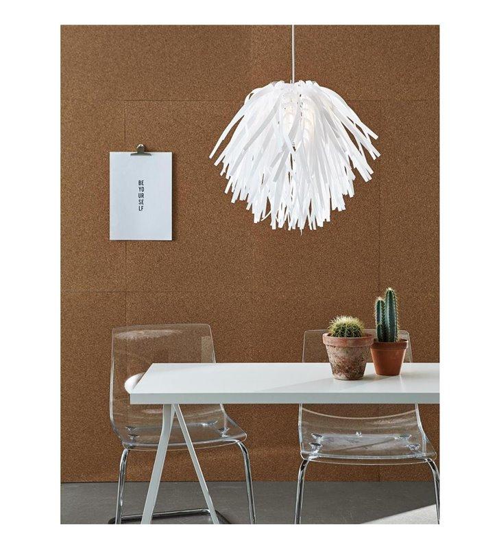 Lampa wisząca Flora biała oryginalny design