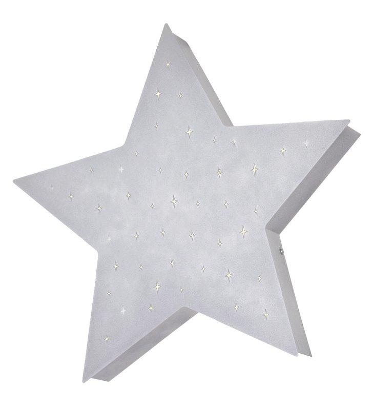 Plafon Montu szara gwiazda