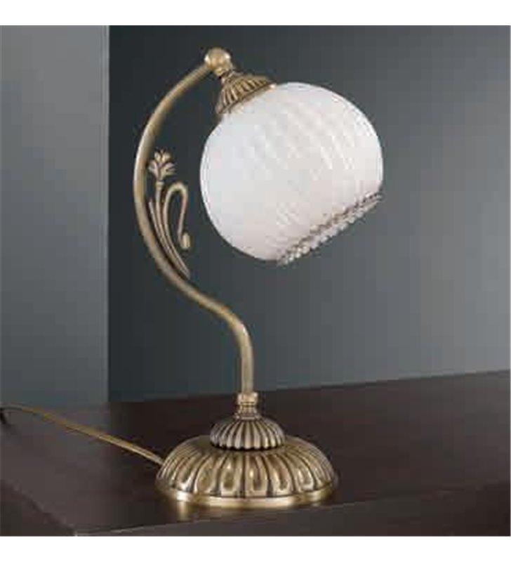Lampa stołowa Cesenatico mosiądz