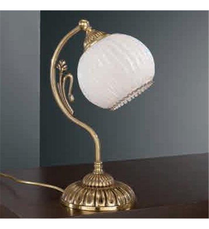 Lampa stołowa Cesenatico złota