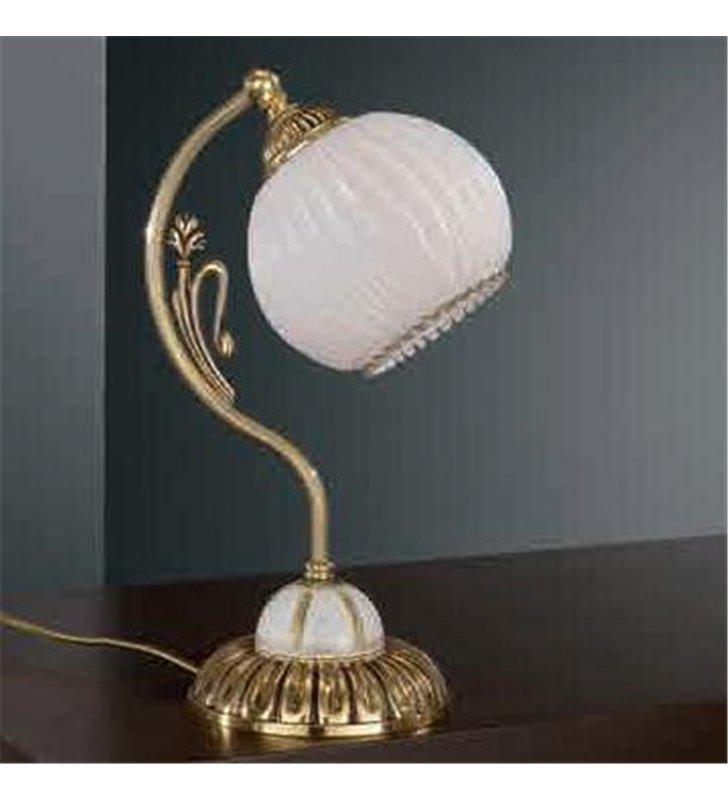 Lampa stołowa Novara złota