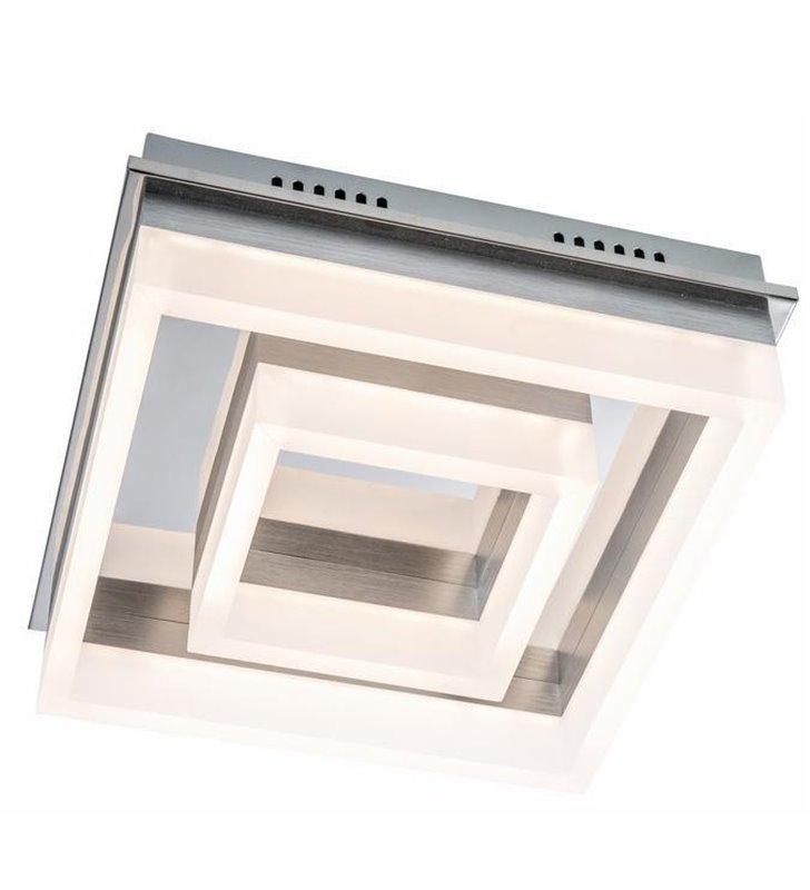 Plafon Lennox 300 LED nowoczesny kwadratowy do salonu sypialni na przedpokój  - DOSTĘPNY OD RĘKI