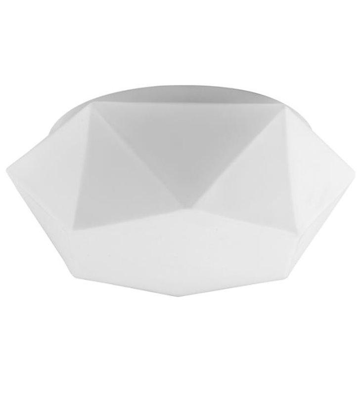 Plafon Gea biały nowoczesny geometryczny kształt 350 LED