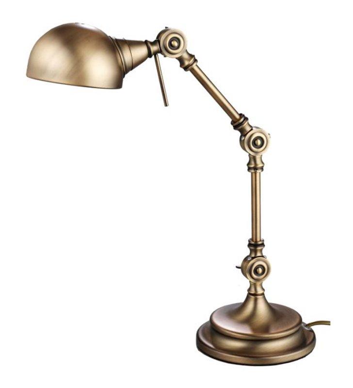 Lampa gabinetowa Kadina mosiądz antyczny