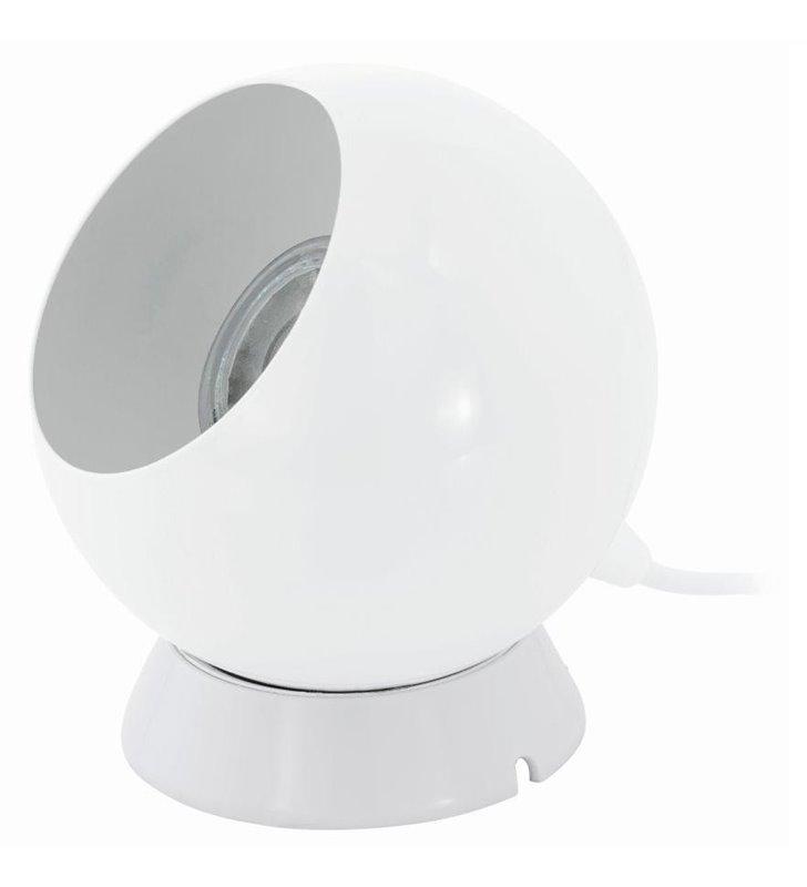 Lampa stołowa Petto1 biała kula