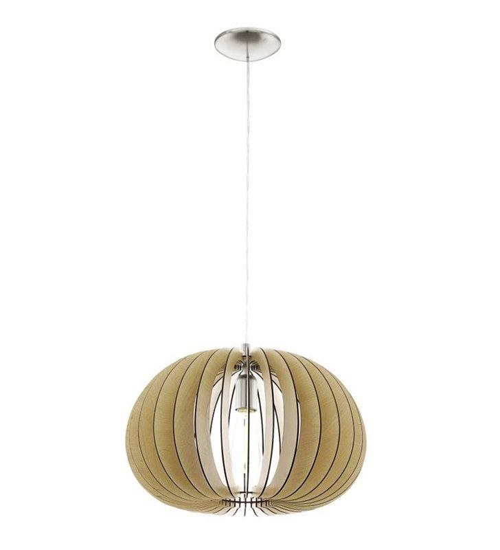 Cossano lampa wisząca okrągła 450 kolor klon drewniana