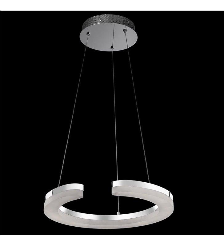 Lampa wisząca Blunder nowoczesna obręcz LED