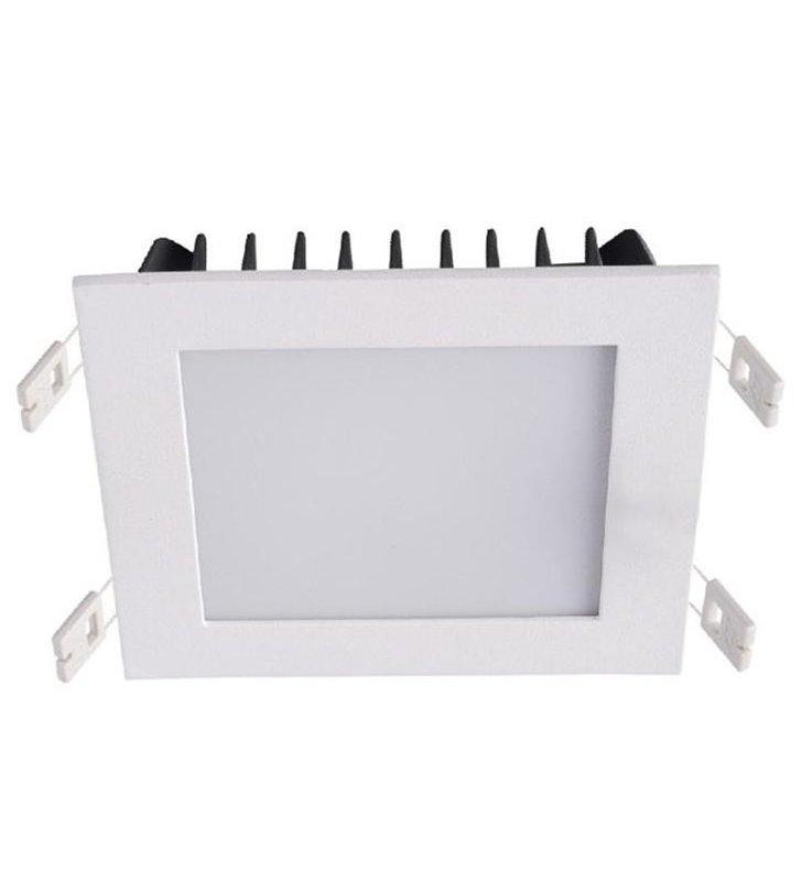 Oprawa punktowa downlight Gobby 12W biała kwadratowa