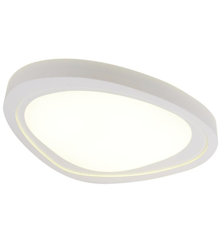 Pafon Cloud LED duży biały nowoczesny o nieregularnym kształcie
