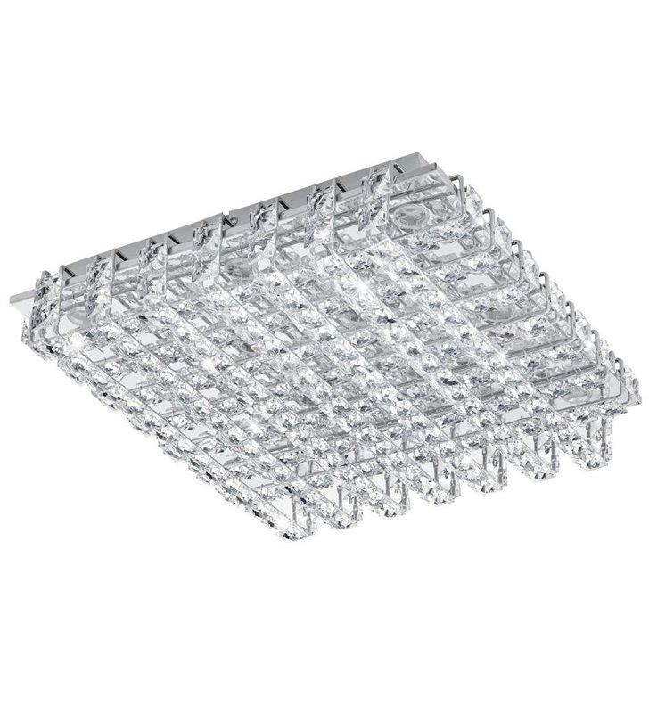 Lonzaso kwadratowy plafon kryształowy LED 390