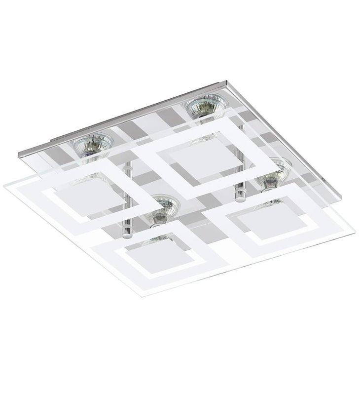 Plafon Almana 290 kwadratowy 4 żarówki LED