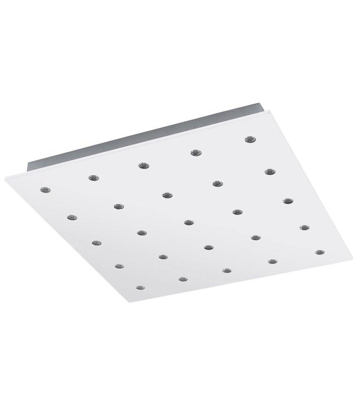 Plafon Vezeno 470 kwadratowy biały nowoczesny LED do salonu holu przedpokoju