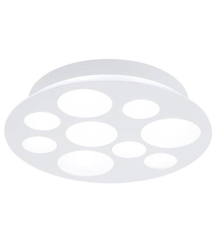 Plafon Pernato 380 okrągły biały nowoczesny ciekawy design moduł LED wymienny barwa naturalna