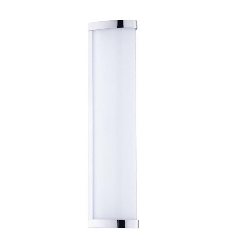 Podłużny kinkiet łazienkowy Gita2 LED chrom IP44 naturalna barwa światła