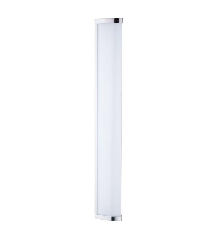 Podłużny kinkiet łazienkowy Gita2 LED chrom IP44 montaż nad lustro lub z boku lustra 4000K - DOSTĘPNA OD RĘKI