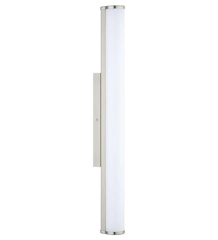 Kinkiet łazienkowy do lustra Calnova LED 60cm IP44 nikiel satyna naturalna barwa światła 4000K