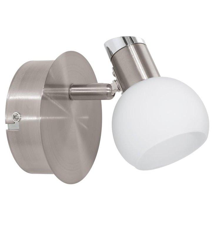 Kinkiet Sesto2 pojedynczy spot okrągły klosz LED
