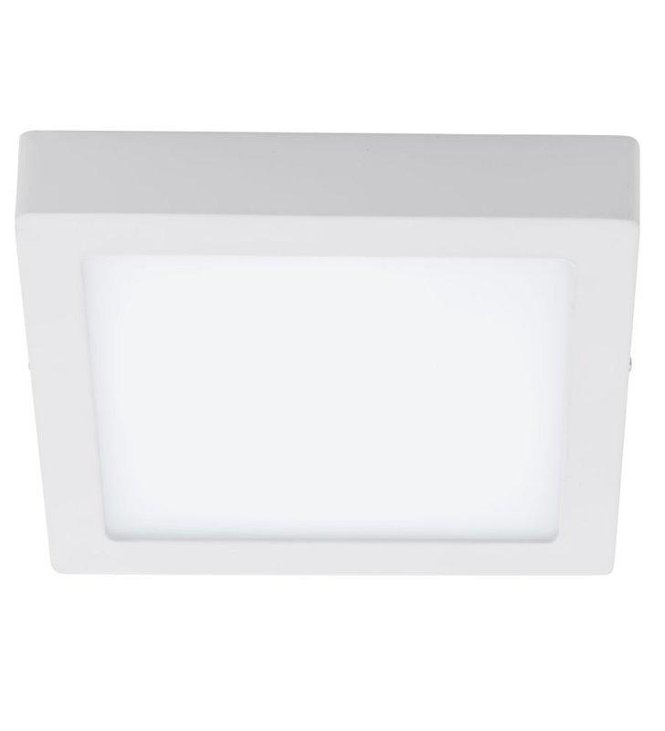Plafon Fueva1 220 biały kwadratowy LED barwa biała ciepła